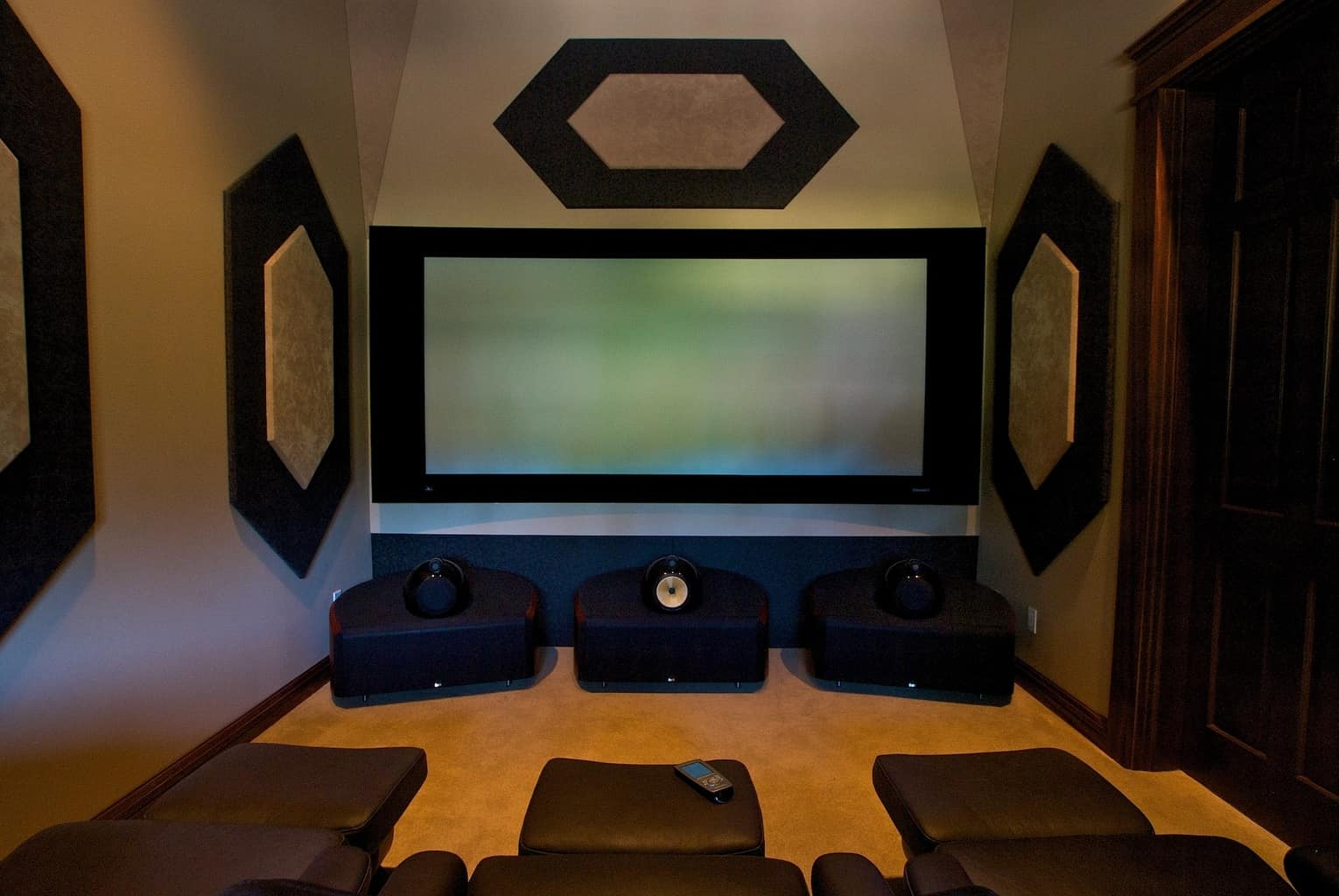 Media Room Design - Cypress Homes Salem Oregon